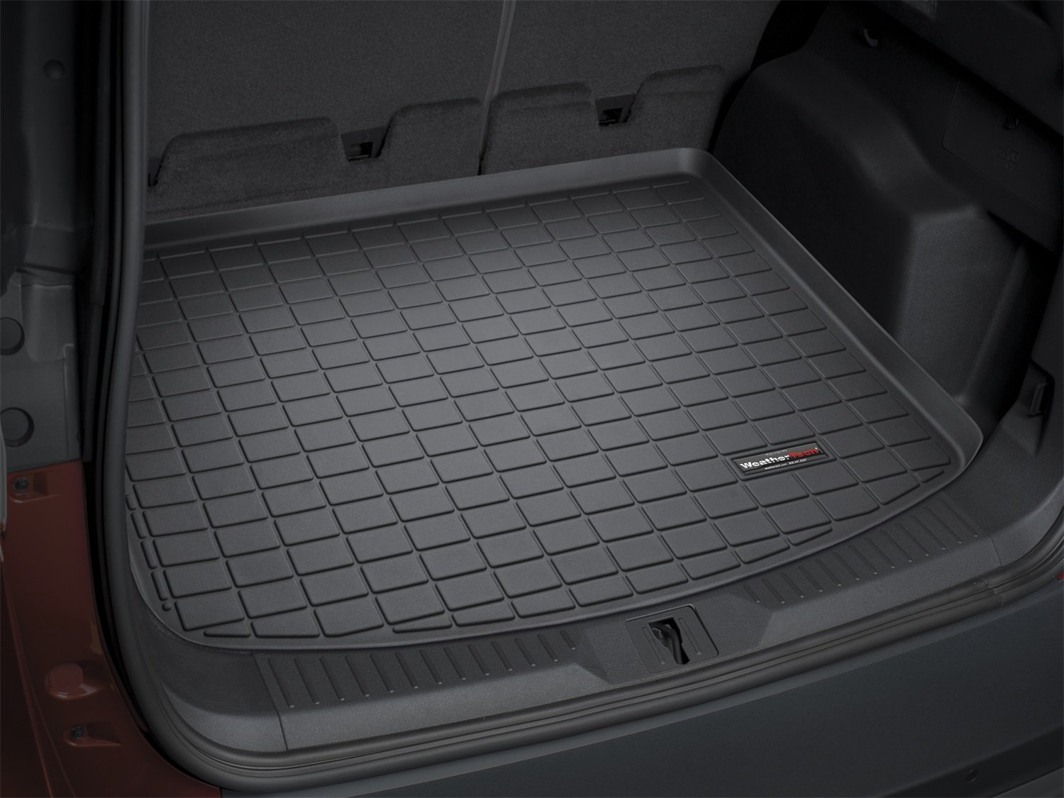 amazoncom weathertech custom fit cargo liners for ford explorer black automotive - Ford Explorer 2015 Trunk Space
