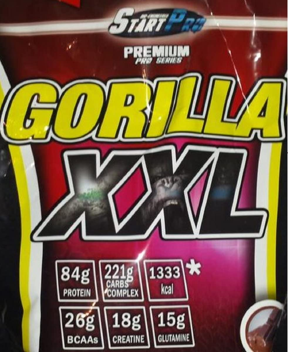 CARBOHIDRATO GORILLA XXL START-PRO 7KG (Chocolate, 7 kg ...