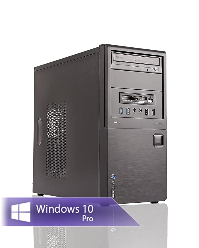 37 opinioni per Ankermann Work Home Business PC AMD X4 845 4x 3.50GHz GeForce GT 710 2GB 8GB RAM