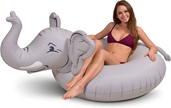 Amazon.com: GoFloats Trunks The Elephant Party Tube ...