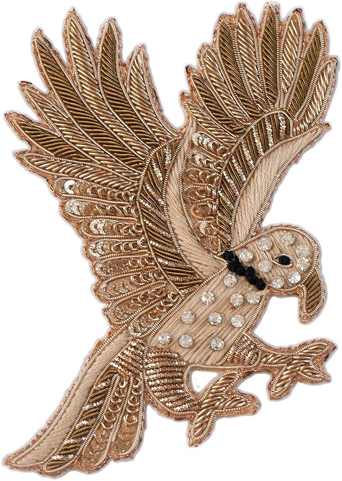 Sewing Applique Espumosos del Pájaro de Vuelo de Coser Apliques ...