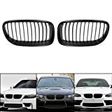 uxcell Matte Black Front Kidney Grill Grille For