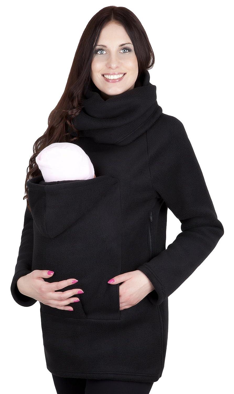 Mija -Maternité chaude Sweet ? capuche / Pull pour deux / Pour porter les bébés 1107A