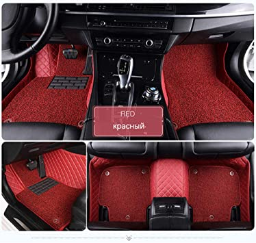 HCDSUSN Alfombrillas de Coche, para Mercedes Benz W203 W210