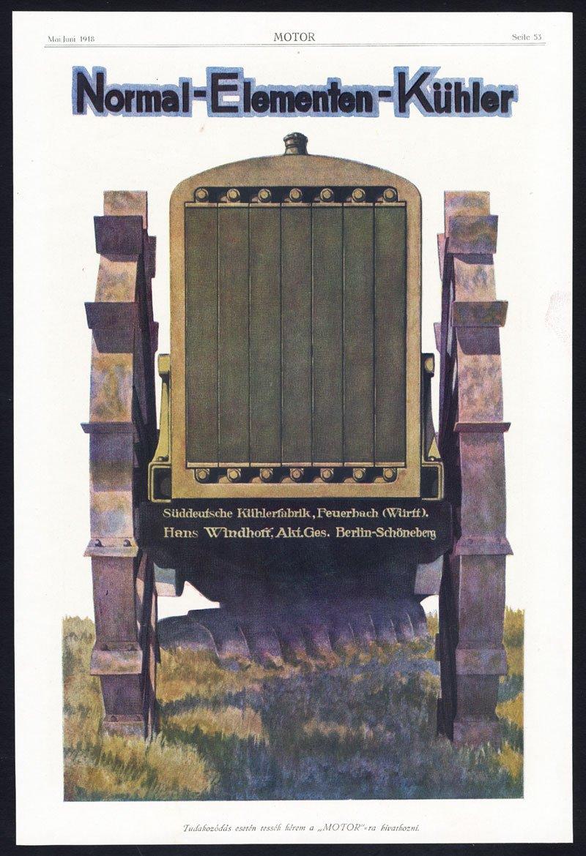 Antiguo ThePrintsCollector cruzerlite-publicidad-radiador-kühlerfabrik-AUTO muelles de hierro fundido de motor-1917: Amazon.es: Hogar