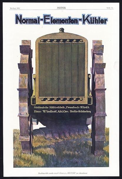 Antiguo ThePrintsCollector cruzerlite-publicidad-radiador-kühlerfabrik-AUTO muelles de hierro fundido de
