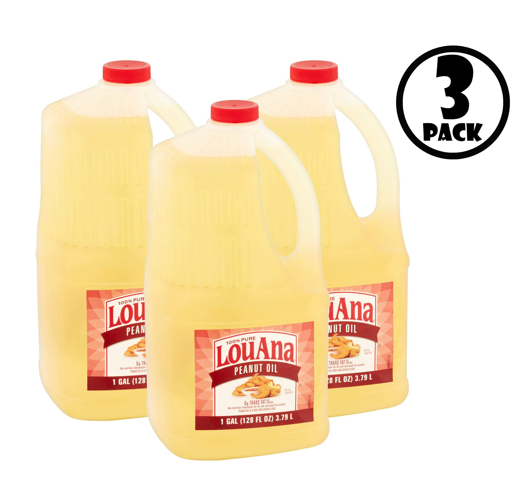 LouAna, Peanut Oil, 128.0 FL OZ by LouAna