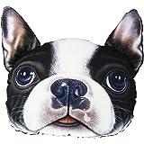 Vulcan-x Headrest Pillow French Bulldog Pet Dog Auto 3D Cute Animals Head Restraints of Automobile Seat Large Size