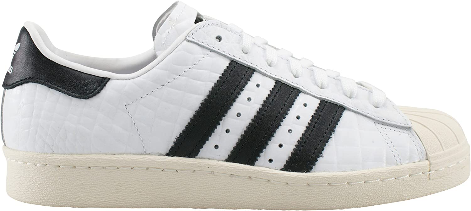 adidas superstar 80s off white core black snake