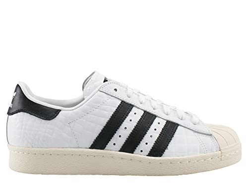 b25bdc7c08e adidas Womens Originals Womens Superstar 80s Trainers in White - UK 3.5