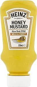 Heinz Mild and Sweet Honey Mustard, 220 ml