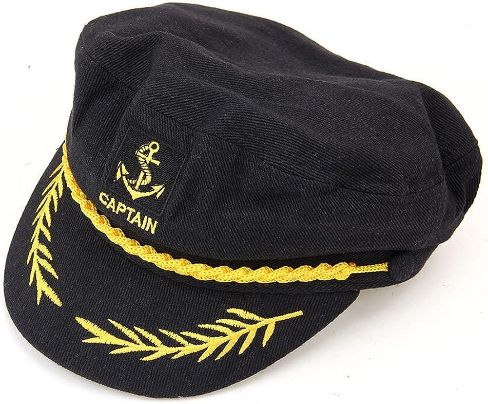 Perfect Order Adult Captains Hat Yacht Cap Standard