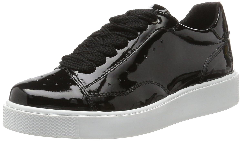 Tamaris 23672, Zapatillas para Mujer 38 EU Negro (Black Patent)