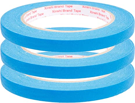 Fineline Konturenband Autolackierung Zierlinienband Klebeband  1,5 2,3,4,5,6 mm