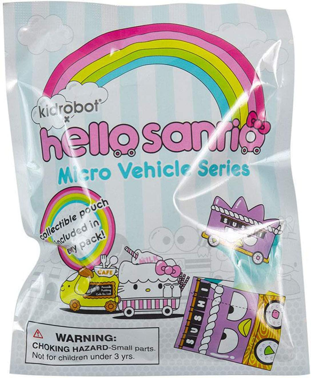 Kidrobot Hello Sanrio Micro Vehicle Series Tuxedosam NEW