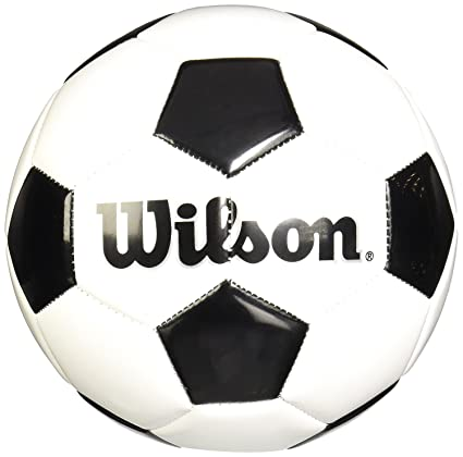 4a974b8b715 Amazon.com   Wilson Traditional Soccer Ball - Size 3   Sports   Outdoors