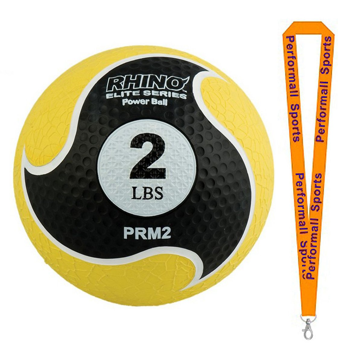 Amazon.com : Champion Sports Rhino Elite Medicine Balls Assorted Colors and Sizes Bundle with 1 Performall Lanyard : Sports & Outdoors