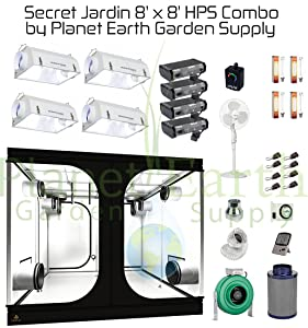 Secret Jardin Grow Tent (8u0027 x 8u0027) HPS Combo Package #8  sc 1 st  I Love Gardening & Grow Tent Series Archives - I Love Gardening
