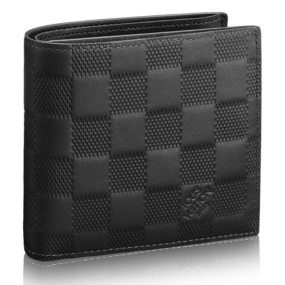 ルイヴィトン LOUIS VUITTON 財布 二つ折り財布 メンズ ポルトフォイユマルコ NM ダミエアンフィニ N63334 B07BJZY8XB