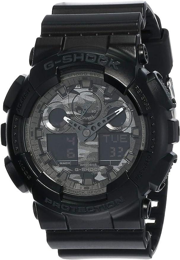 Casio G-Shock Camouflage Watch GA100CF-1A [カシオGショック迷彩腕時計GA100CF-1A]