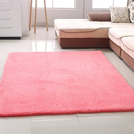 Amazon.com: Super soft thick plush carpet Living room coffee table ...