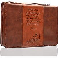 Gospel Two-tone Bible / Book Cover - John 3:16 (Large)