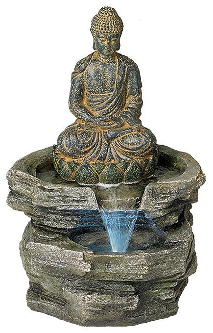 Amazon.com   John Timberland Sitting Buddha 21