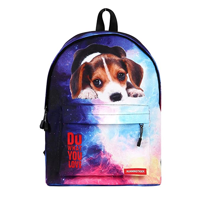 2e439c9144 Runningtiger Cute Animal Print Childrens School Backpacks Kids Fashion Bags  For Middle School Students Computer Backpack