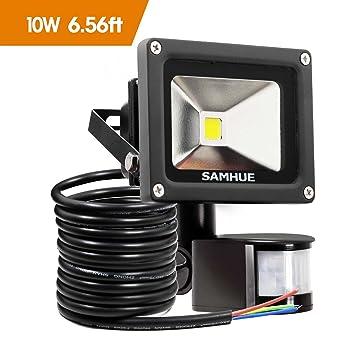 10W LED Fluter Bewegungsmelder LED Strahler Bewegungsmelder Strahler ...