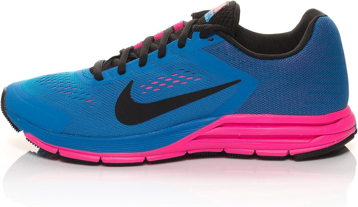 Nike Wmns Zoom Structure+ 17, Zapatillas de Running para Mujer, Azul (Photo Blue/Black-Hyper Pink), 46 EU: Amazon.es: Zapatos y complementos