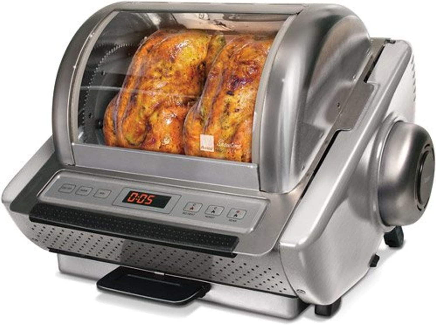 Ronco EZ Store Rotisserie Oven (stainless steel)