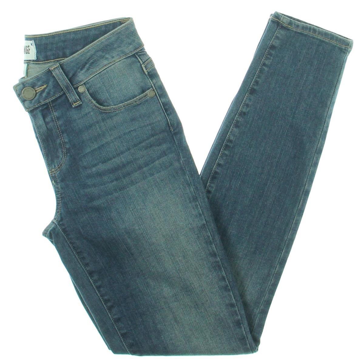 PAIGE Denim Women's Verdugo Ankle Jeans In Vivian Destructed (Blue)