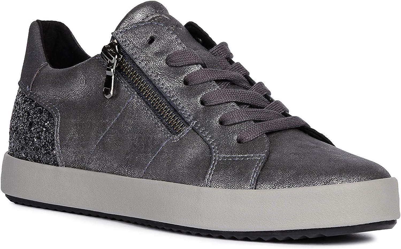 Geox Mujer Zapatos de Cordones BLOMIEE, señora Calzado Deportivo