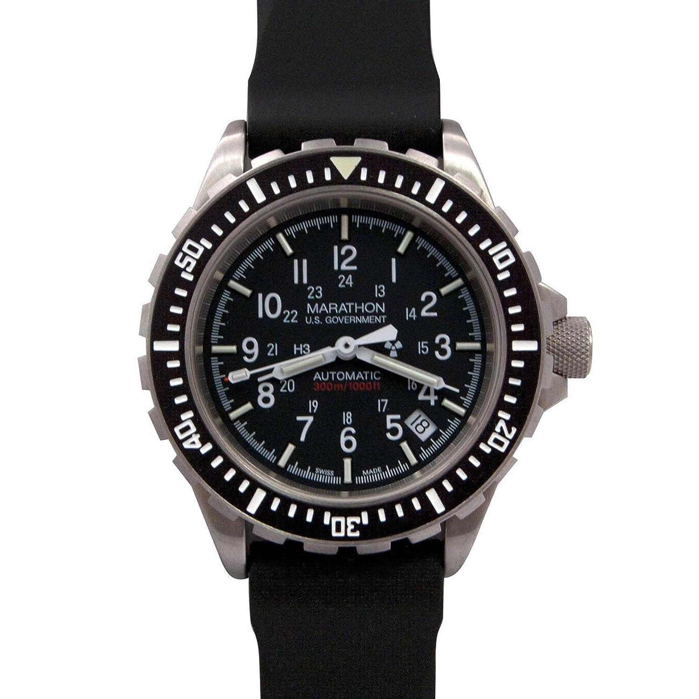 [マラソン] MARATHON GSAR Automatic Divers 300M マラソン ジーサー 自動巻き ダイバーズ [正規輸入品][腕時計][クロノワールド chronoworld] B004U3ZIV4US Goverment