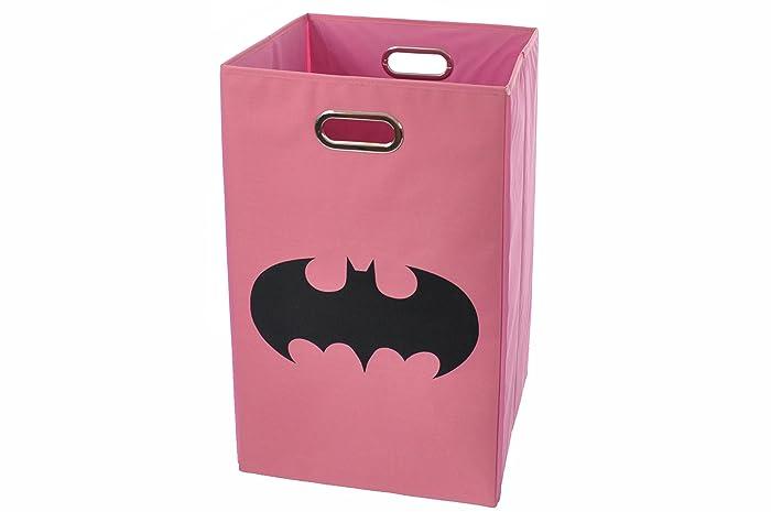 Top 10 Batman Shield Pink Folding Laundry Basket