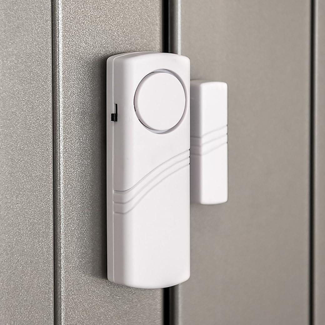 Kwmobile Sistema de Alarmas Hogar 4x Alarma Para Puerta y Ventana