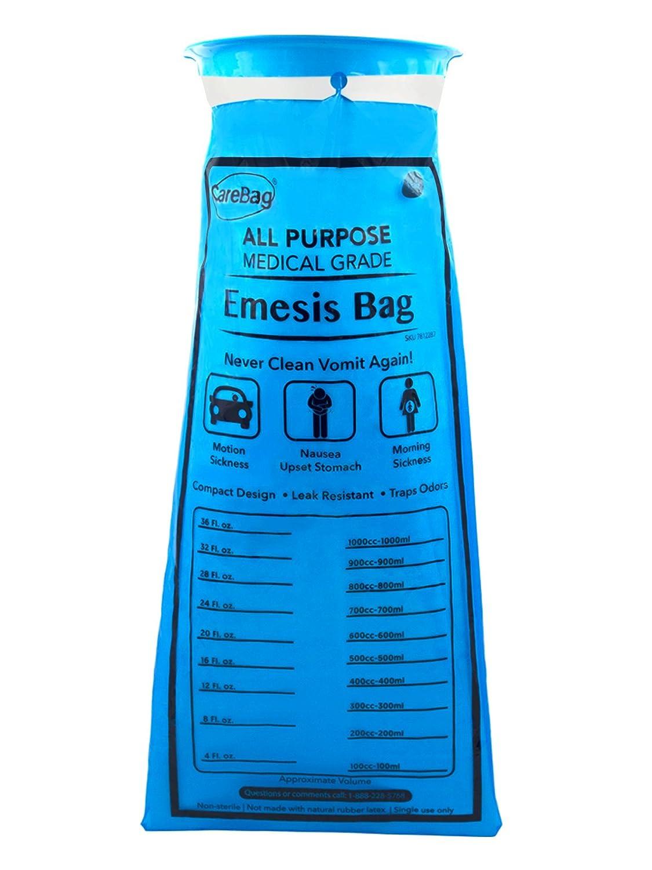 Amazon.com: Carebag Medical Grade Emesis Bag - 144 Count ...