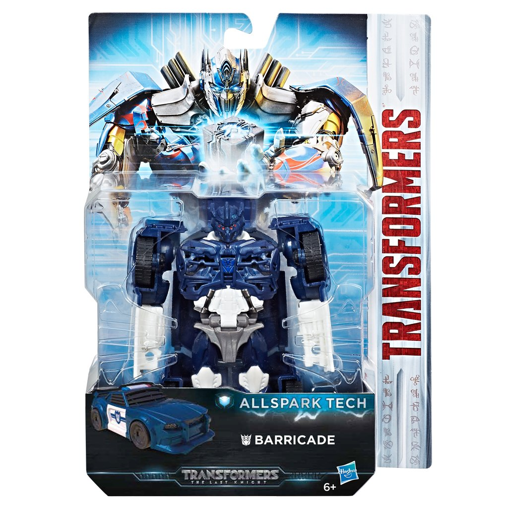 Hasbro Transformers C3419ES0 - Movie 5 All Spark Tech Barricade, Actionfigur