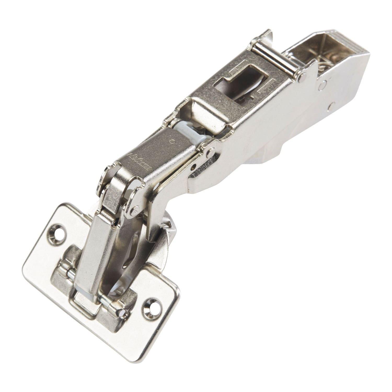 Blum 170-degrees Clip-top Half-crank Screw-on Self-closing Cabinet Hinges (25 Pack)