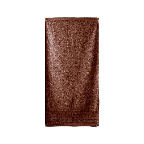 Barceló Hogar 05010010421 Toalla de lavabo, rizo americano, modelo Diamante, marrón, 50