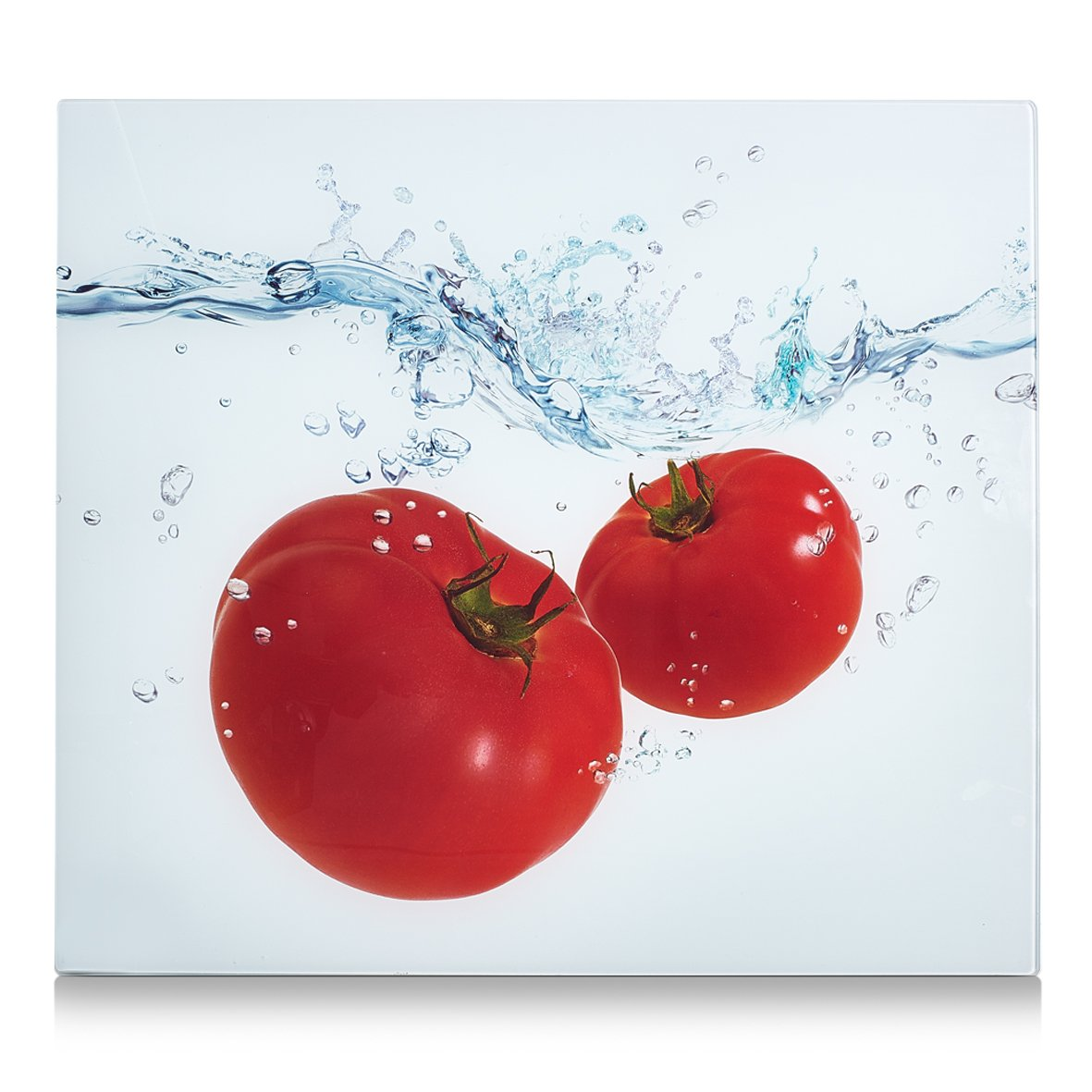 decorazione in vetro 56/x 50/x 2/cm Zeller 26307/cucina//abdeckplatte tomato Splash