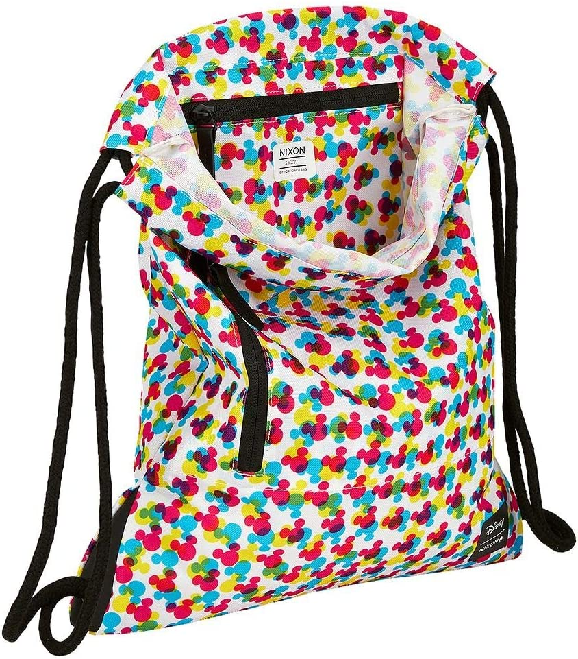 Nixon Everyday Cinch Bag Mickey Mouse CMYK Disney Day Bag Backpack
