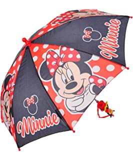 Disney Minnie Mouse Umbrella - black/multi, one size