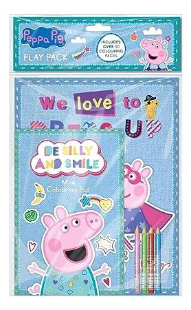 Peppa Pig - Peppa pig jugar pack - media/fiesta botín bolsa ...