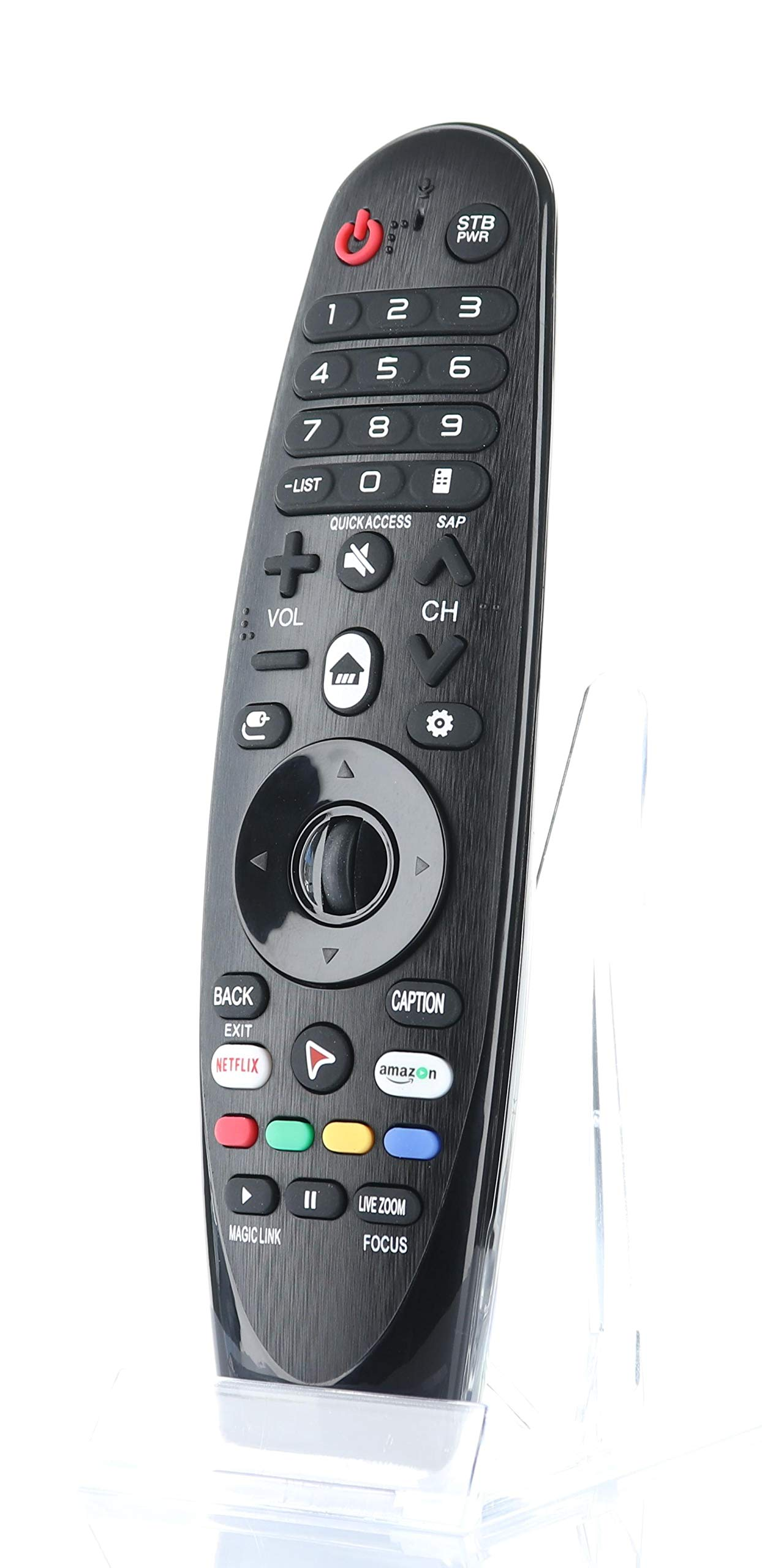 LG Replacement AN-MR600 Magic Remote with Pointer, Netflix, App Keys Replaces AN-MR600G. AN-MR650, AN-MR650G, ANMR650A, AN-MR700, AN-MR400, ANMR600, AN-MR650B, AN-MR19BA, AN-MR18BA, More