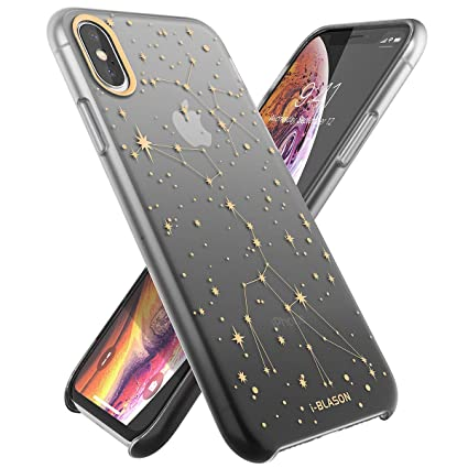 i-Blason OMG Series Silicone Case for iPhone Xs (2018) / iPhone X (2017), Slim Liquid Soft Rubber Protective Case, 5.8