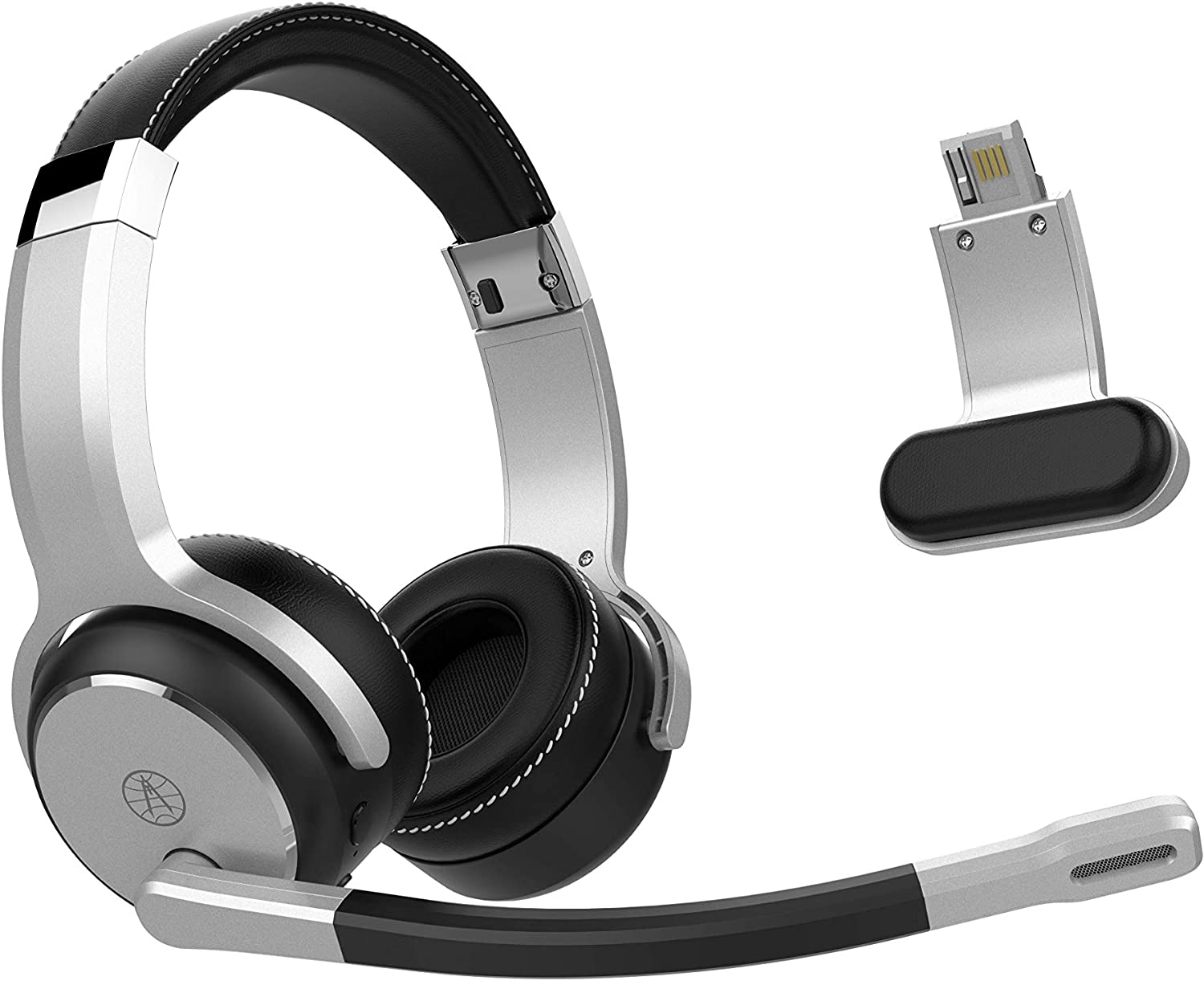 Rand McNally ClearDryve 180, 2-in-1 Bluetooth Headphone/Headset with Active Noise Cancellation, Digital Signal Processing and Custom EQ Settings