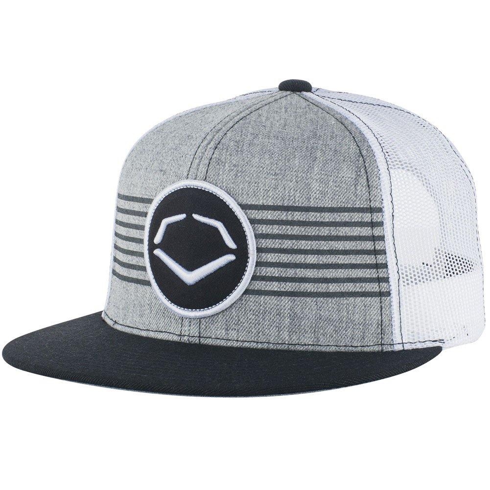 Amazon.com  EvoShield Throwback Patch Wool Snapback Cap Grey Royal One Size  Fits Most  Clothing 594b0b312077