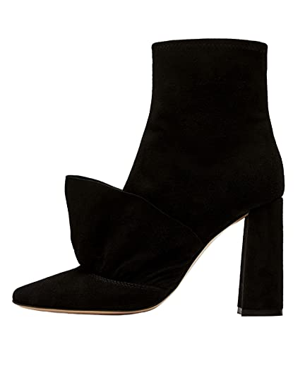 23a376e0ec68 Zara Women Ruffled high heel leather ankle boots 5105 201 (38 EU ...