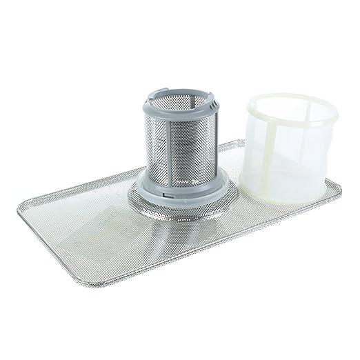 Siemens - Juego de filtro de repuesto para lavavajillas, con ...